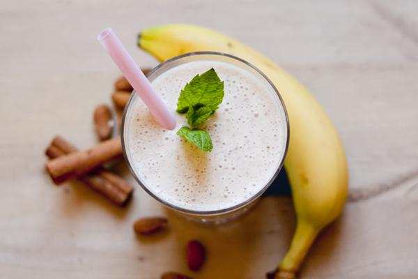 smoothie banan yoghurt